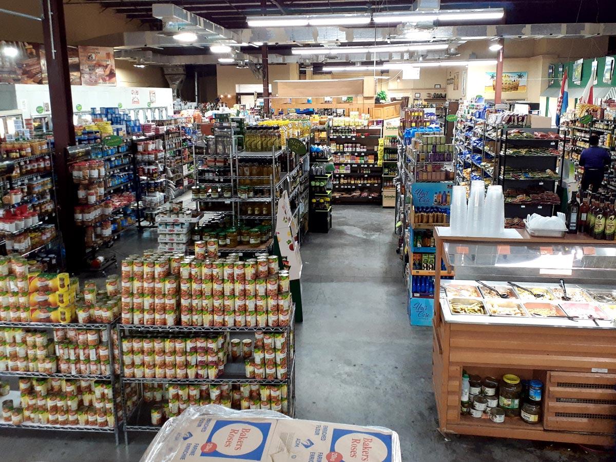 Arabic supermarket