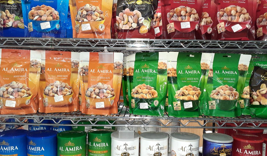 Premium Mixed Nuts by Al Amira at International Food Club in Orlando.