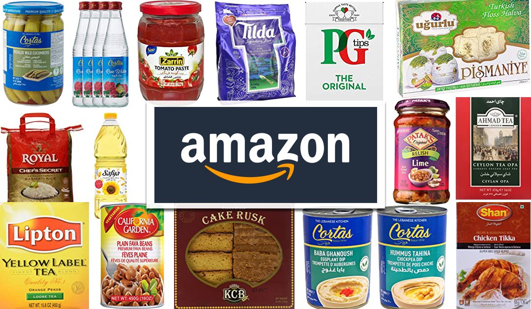 Online food products for sale at Commerce Foods Amazon store.