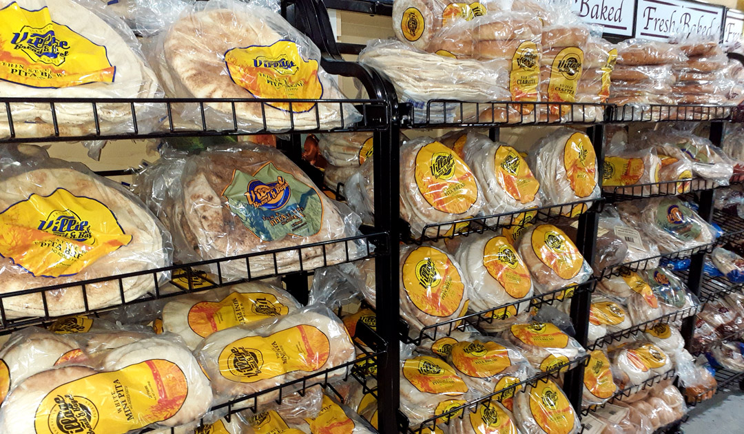 Village Bread & Bagel Pita Breads in Orlando.